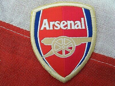 £2.99 • Buy Arsenal F.c Sew On Badge / Patch - Old Shirt Badge ? -  Shield Design -