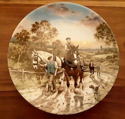 £6.99 • Buy Wedgwood Life On The Farm  End Of The Day  Ltd Edition Collectors Plate 1990