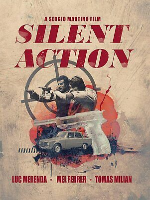 £22.89 • Buy Silent Action (Limited Edition)  - UK Blu Ray NEW & SEALED - Slipcover & Booklet