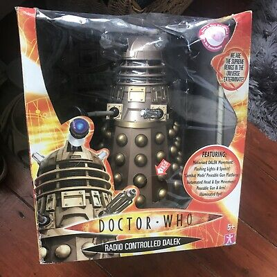"""£99.99 • Buy Doctor Who Radio Controlled Dalek 12"""" Size With Remote Control. Unboxed/New."""