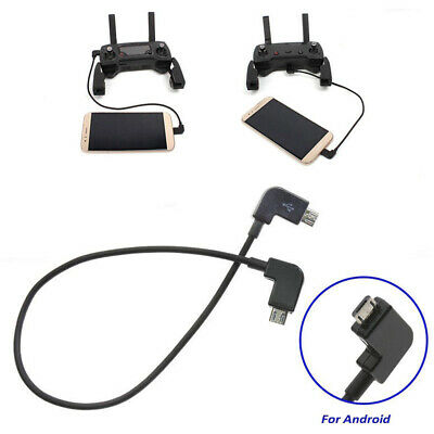 AU8.44 • Buy For DJI Spark Mavic Air Transmitter Control MicroB Cable Type C OTG NEW