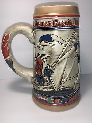 $ CDN14.80 • Buy 1984 LA Olympics Anheuser-Busch Beer Stein Olympic Committee By Ceramarte