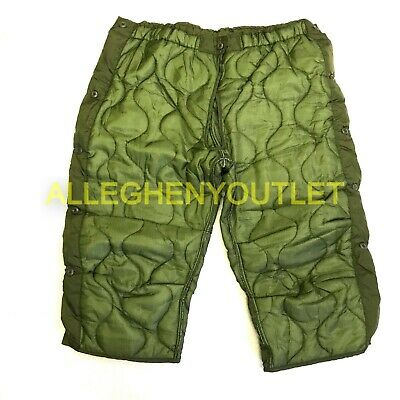 $12.95 • Buy Military Cold Weather Field Pant Liners, M65 OD Green, LARGE Winter Trousers NIB