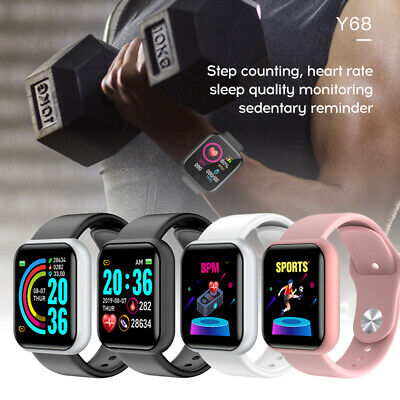 AU15.79 • Buy Smart Watch Heart Rate Blood Pressure Fitness Tracker Pedometer Fit Android Ios