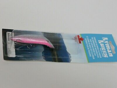 $ CDN28.31 • Buy Lyman Lures Size 3 Color 140 Wood Fishing Lure Trout Salmon