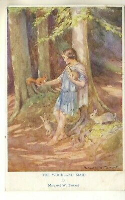 £1.45 • Buy Early Medici Society Art Post Card Of The Woodland Maid By Margaret W. Tarrant