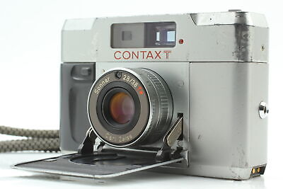 $ CDN465.65 • Buy [Exc+5]  CONTAX T Silver 35mm Rangeginder Compact Film Camera From JAPAN B122