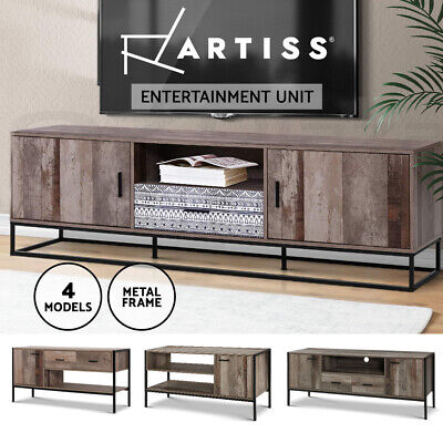AU169.95 • Buy Artiss TV Cabinet Entertainment Unit Stand Storage Drawers Industrial Rustic
