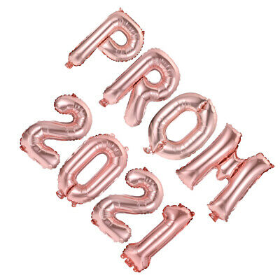 £3.99 • Buy 1 Set PROM 2021 Graduation Party Balloon Decor Party Supply For Indoor School