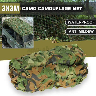 $20.42 • Buy 10ftx10ft Camouflage Netting Military Army Camo Hunting Shooting Hide Cover Net