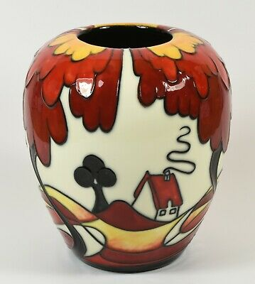 £38.99 • Buy Beautiful MIB Old Tupton Ware Clarice Cliff Deco Style Vase By Jeanne Mcdougall