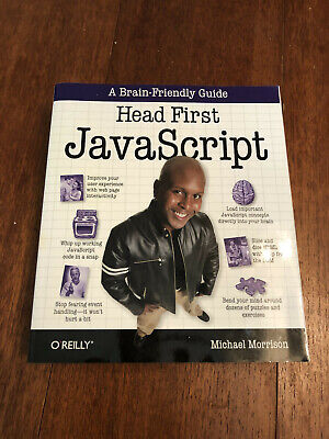 £9.99 • Buy Head First JavaScript By Michael Morrison Paperback Book The Cheap Fast Free