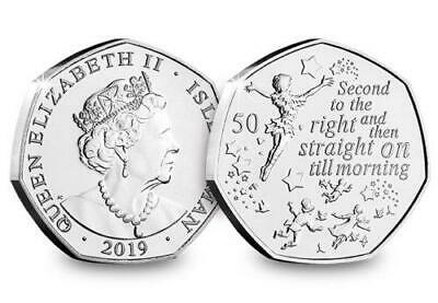 £5.99 • Buy 2019 Peter Pan 50p Fifty Pence Brilliant Uncirculated Coin