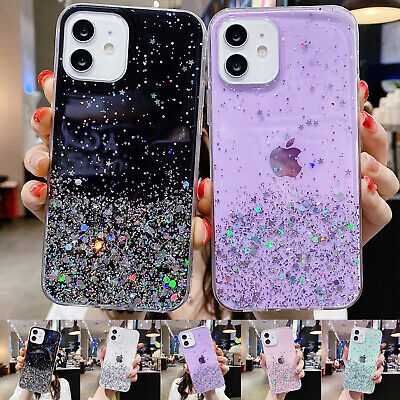 AU8.99 • Buy For IPhone 11 12 Pro Max XR XS Max 7 8 6s SE2 TPU Rubber Case Bling Slim Cover