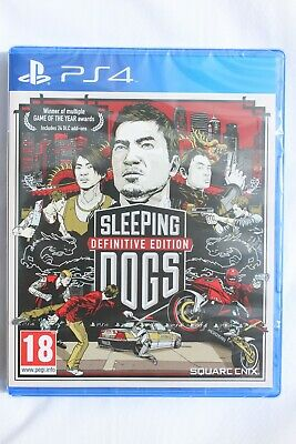 £14.99 • Buy Sleeping Dogs Definitive Edition PS4 BRAND NEW & SEALED With Same Day Dispatch