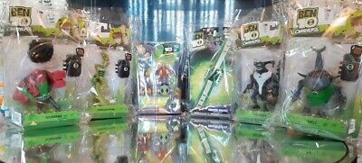 £87.50 • Buy Ben 10 Toys X 6 Sealed Packaging Rare Galactic Monsters Watch + Figures Job Lot