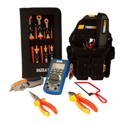 £199.95 • Buy Electricians Tool Kit 13pc -Toughbuilt, Bahco & Knipex Tools