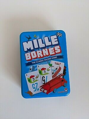 $4 • Buy Mille Bornes The Classic Racing Game Card Game For 2-6 Players Ages 7 + In Tin