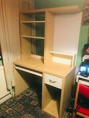£29.99 • Buy IKEA Large Micke Computer Desk Birch - May Deliver