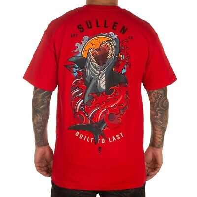 $30.99 • Buy Sullen Men's Blood In The Water Standard Short Sleeve T Shirt Red Clothing Ap...