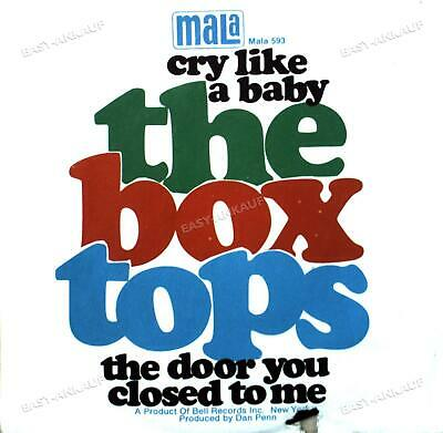 £6.29 • Buy The Box Tops - Cry Like A Baby / The Door You Closed To Me 7in 1968 '