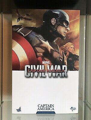 $ CDN440 • Buy HOT TOYS MMS 350 CAPTAIN AMERICA (Civil War) 1:6 Scale Collectable Figure