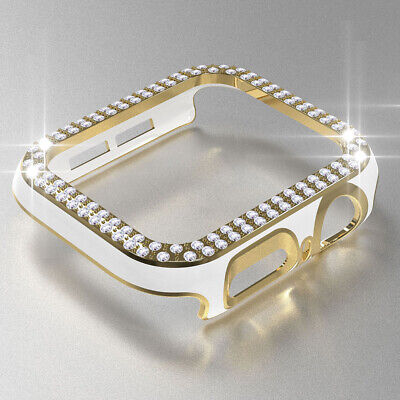 $ CDN6.02 • Buy Laser Diamond Bumper Case For Apple Watch Series 6 5 4 3 SE IWatch Protect Cover