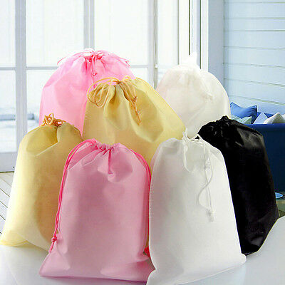 £2.05 • Buy Shoes Bag Travel Storage Pouch Drawstring Dust Bag Non-woven Party Gift  RDRL_ju