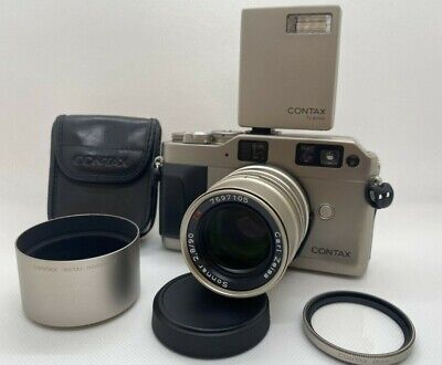 $ CDN597.44 • Buy 【 EXCELLENT5 】 CONTAX G1 Green Label + TLA140 + Sonnar 90mm F2.8 Lens From JAPAN