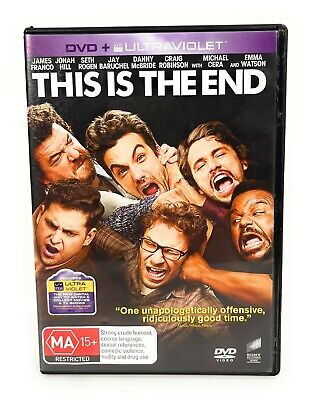 AU7 • Buy This Is The End (DVD, 2013) James Franco Region 4 Free Postage