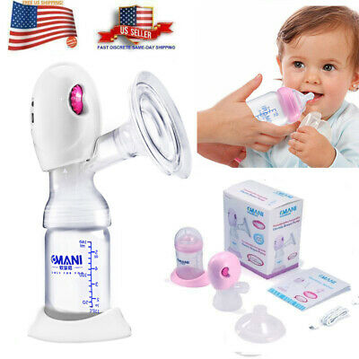 $22.77 • Buy Double Electric Breast Pump Pain Free Strong Suction Hospital Grade+Milk Bottle