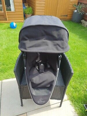 £25 • Buy Quinny Zapp Xtra Black Seat Unit With Chest Pads (bumper Bar Compatible)