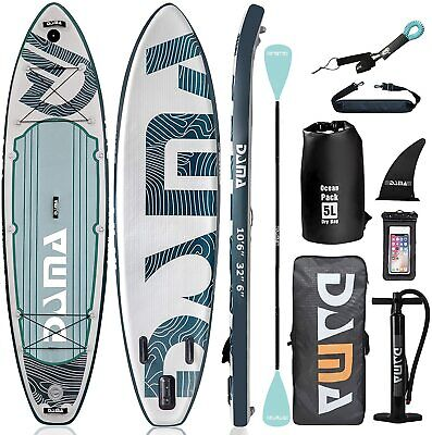 """$419.99 • Buy Military Grade 10'6''x32""""x6'' SUP Inflatable Stand Up Paddle Board"""