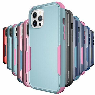 AU14.66 • Buy Shockproof Case For IPhone 12 11 Pro Max Xr Xs 6 6s 8 7 Plus SE Heavy Duty Cover