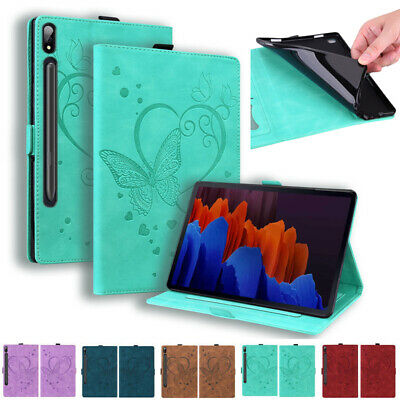 AU21.79 • Buy For Samsung Galaxy Tab A A7 S7/S7 Plus Tablet PU Leather Flip Stand Case Cover