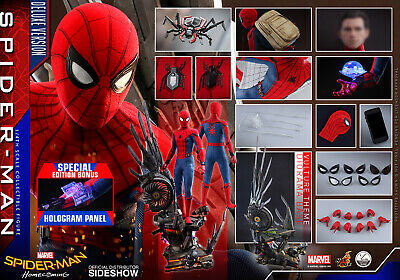 $ CDN1223.40 • Buy 1/4 Hot Toys Qs015b Spider-man Homecoming Deluxe Ver Exclusive Special Edition