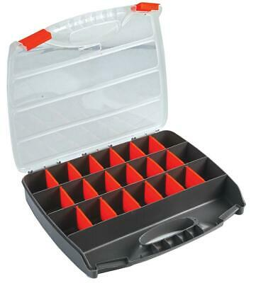 £11.49 • Buy 21 Compartment Professional Tool Organiser Case Box Storage Screw Nail Nut Bolt