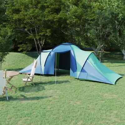 £109.99 • Buy VidaXL Camping Tent 6 Persons Blue And Green Sun Shade Shelter Hiking Outdoor