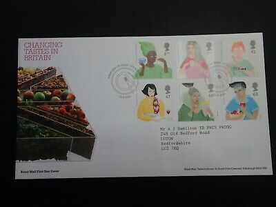£1.25 • Buy Royal Mail First Day Cover - Changing Tastes - Cookstown