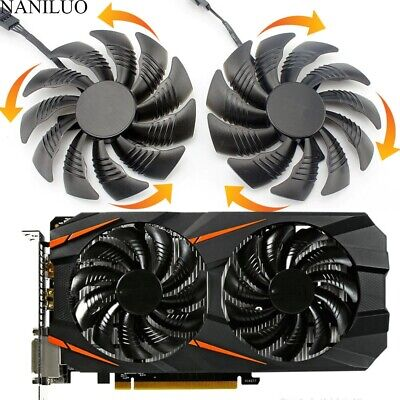 £9.38 • Buy Cooling Fan For Gigabyte GTX 1050 1060 1070 960 RX 470 480 570 580 Graphics Card