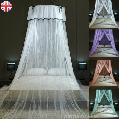£14.97 • Buy Mosquito Net Dome Bed Canopy Tent Princess Bedding Mesh Curtain Drapes Bedcover