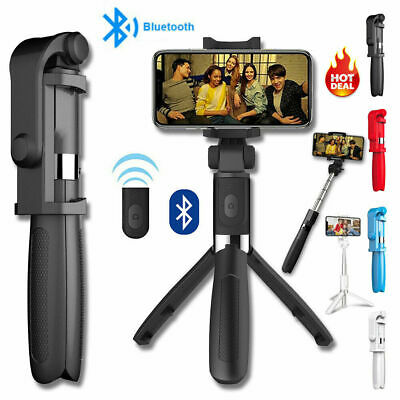 AU18.99 • Buy Bluetooth Selfie Stick Telescopic Tripod Monopod Phone Holder For IPhone Android
