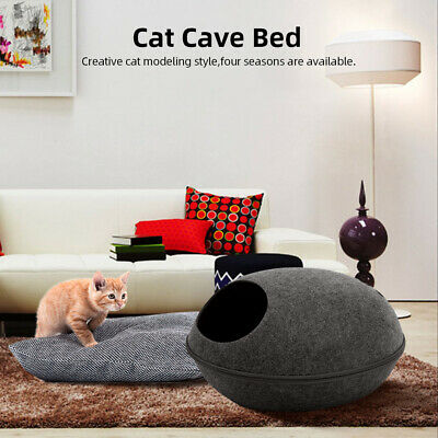 £12.93 • Buy Cat Nest Dog House Bed Kitten Pet Boxes Cave Puppy Sleeping Cozy Hut Tunnel L0O8