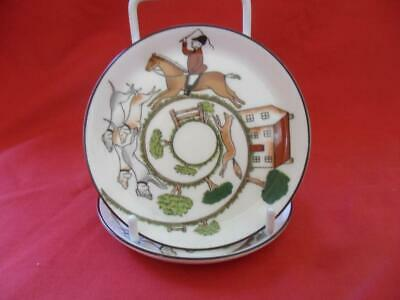 £9.99 • Buy Coalport, Hunting Scene, 2 X Pin Dishes Or Butter Pats