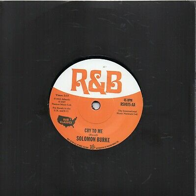 £8.99 • Buy SOLOMON BURKE  CRY TO ME / MEL TORME  COMIN' HOME BABY  UK RSV  NORTHERN Re-Iss