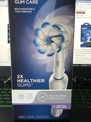 AU27.01 • Buy Oral-B Vitality (Floss Action)3757 Electric Toothbrush-Brand New EXTRA HEAD-FAST
