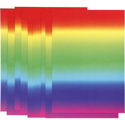 £2.95 • Buy  Rainbow Multi-Colour 10 X A4 Gloss Paper Craft Card-Making Scrapbooking 180g