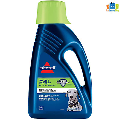 £22.99 • Buy BISSELL Wash & Protect Formula Removes Pet Stains Odours Upright Carpet Cleaners