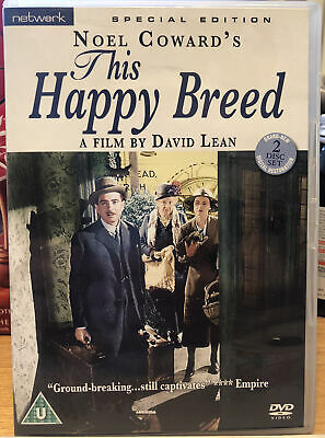 £8.99 • Buy This Happy Breed 1944 Rare Deleted Classic Special Edition DVD Robert Newton
