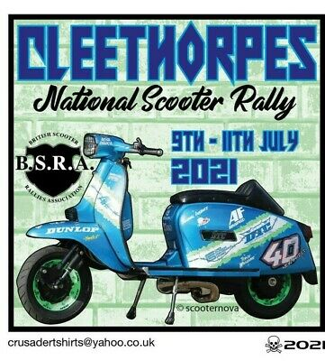 £2.80 • Buy 2021 CLEETHORPES SCOOTER RALLY RUN BSRA PATCH MODS SKINHEADS Not PADDY SMITH
